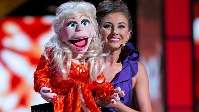 Miss Ohio Mackenzie Bart won the first preliminary talent award at Miss America Tuesday night.
