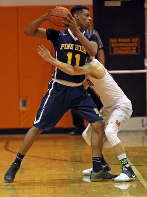 Image result for marquis johnson pine bush basketball