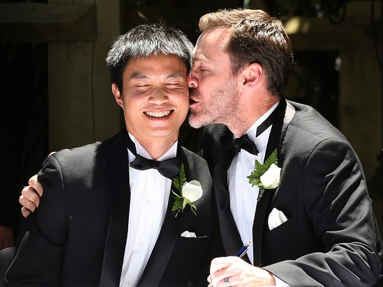 Famous Married Gay and Lesbian Couples | Brides