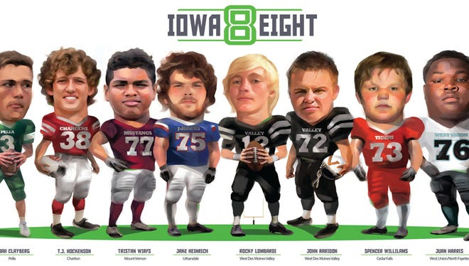 The Iowa Eight.