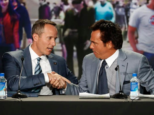 Chris Ilitch, Tom Gores