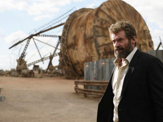 """This image released by Twentieth Century Fox shows Hugh Jackman in a scene from """"Logan."""""""