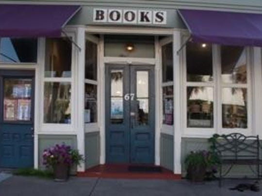 Downtown Books in Apalachicola.