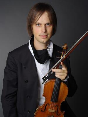 Dima Tkachenko performs Wednesday with the National Symphony Orchestra of Ukraine at Binghamton University.