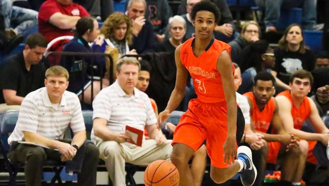 Blackman junior Donovan Sims (3) committed to MTSU.
