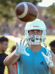 Palmetto High School wide receiver Blakely Williams