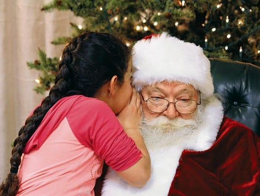 White Sands Mall Santa