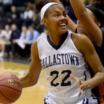 Aniya Matthews uses her size to to lead Dallastown late