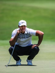 Brooks Koepka at the 2017 FedEx St. Jude Classic at TPC Southwind