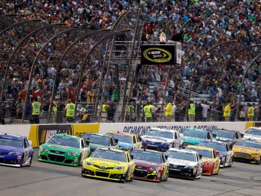 NASCAR Track Takeover Auto Racing