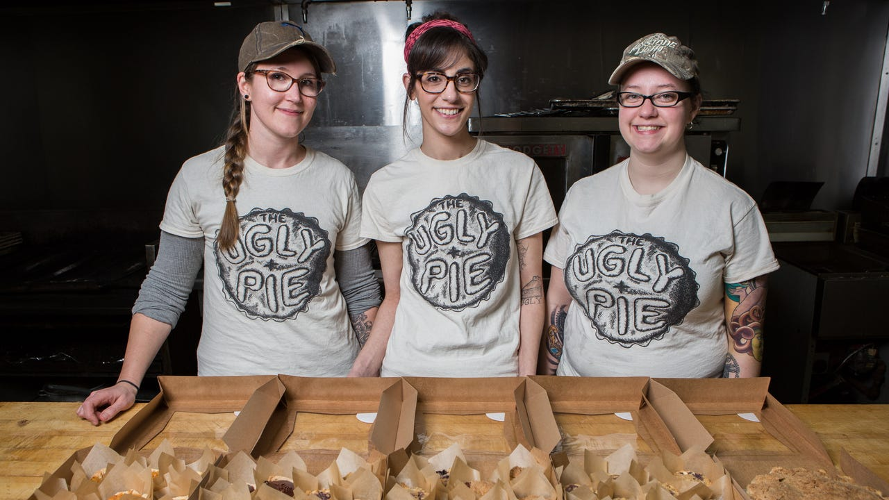 The Ugly Pie co-owner Bridget Perry talks about starting the company with two of her close friends.