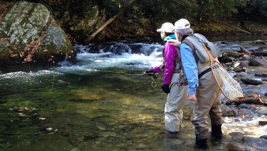 Orvis holds free fly fishing in asheville greenville for Fly fishing asheville nc