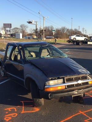 A three-vehicle accident in Bossier City on Saturday critically injured one.