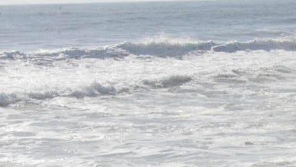 The Pacific Ocean.