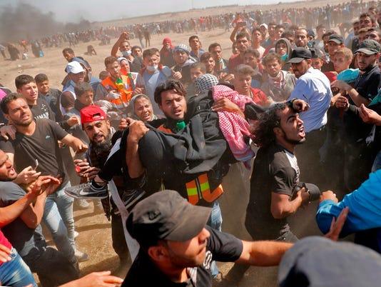 Gaza Strip Demonstrations Palestine Israel