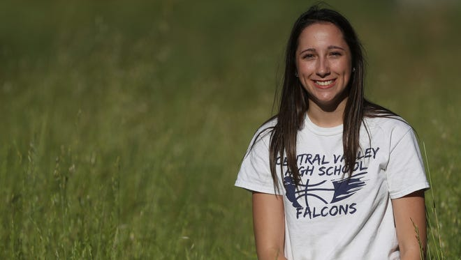 Tayah Ranney, the all-time leading scorer for the Central Valley Falcons basketball team and the Northern Section 3-point record holder, is the 2016-17 Girls Record Searchlight MVP.