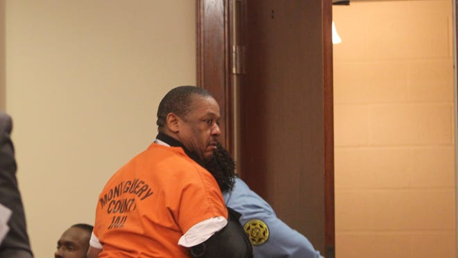 David Bond leaves the courtroom after his preliminary hearing Thursday afternoon in Judge Ken Goble's court.
