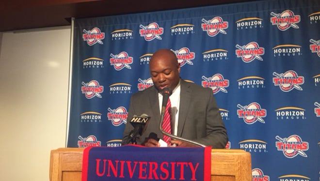 New UDM women's basketball coach Bernard Scott