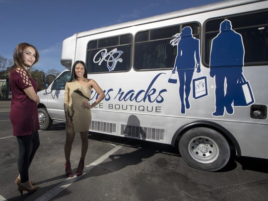 Novus Racks is a new mobile boutique that transformed