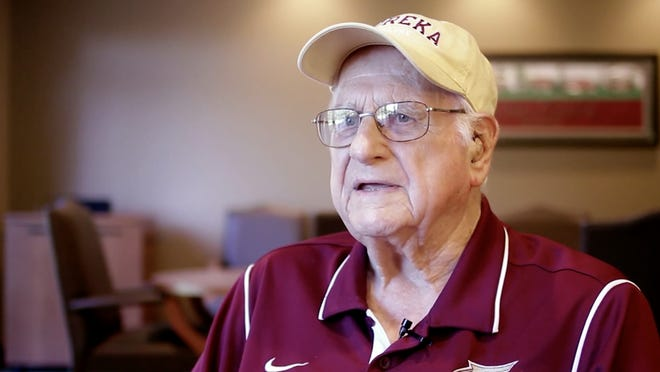 "Leo ""Doc"" Traister spent a lifetime playing, working and supporting with Eureka College sports. He died Saturday at age 101."