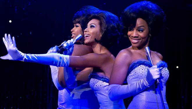 "Jennifer Hudson, from left, Beyonce Knowles and Anika Noni Rose star in ""Dreamgirls."" The film kicks off the next Retro Series at Bay Park Cinema."