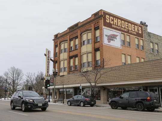 Schroeder's Department Store at its current location