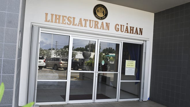 The Guam Legislature building.