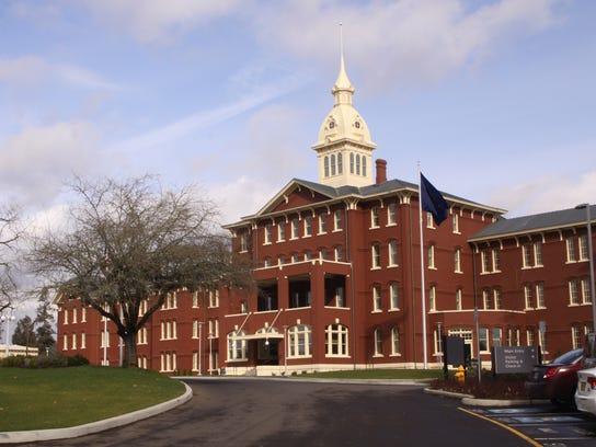 The Oregon State Hospital building in Salem.