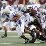 The last meeting between ULM and Tulsa came in the 2007 season opener at Malone Stadium.