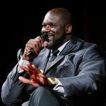 IMAGE DISTRIBUTED FOR 2K - Shaquille O'Neal talks about the day he spent a million dollars, during a panel discussion at the NBA 2K16 Uncensored Premiere Event at Marquee on Monday, Sept. 21, 2015, in New York. (Photo by Stuart Ramson/Invision for 2K/AP Images)