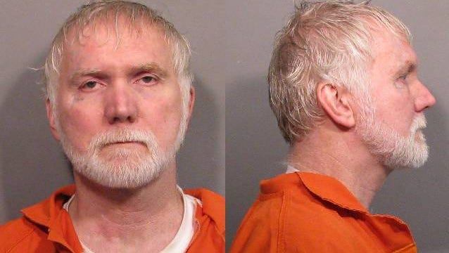 Mark Colby, 57, in a May booking photo.