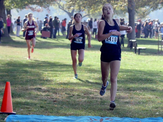 Pippa Nuttall of John Jay-Cross River wins the Westchester