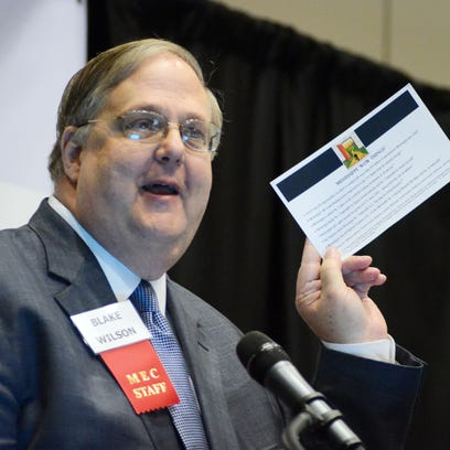 Blake Wilson, president and CEO of the Mississippi