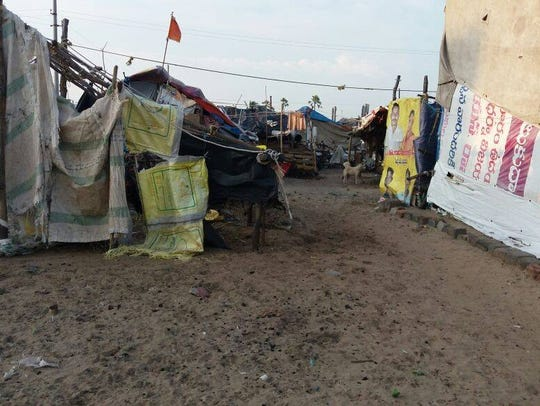 The slums of India