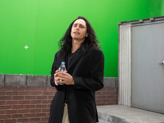 "James Franco in a scene from ""The Disaster Artist."""