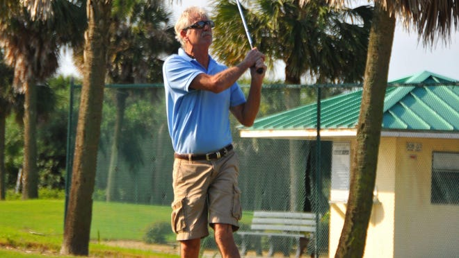Jim Fox tees off at the Spessard Holland golf course, south of Melbourne Beach, one of three county golf courses that Integrity Golf will operate for the county, effective Feb. 1.