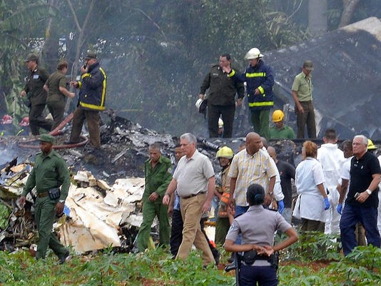 CUBA-AIR-ACCIDENT-DIAZ-CANEL