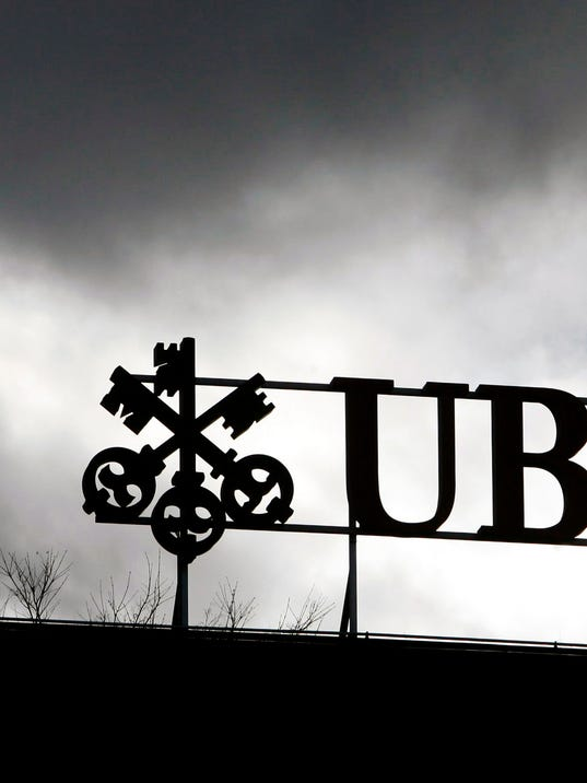 AP SWITZERLAND UBS TAX EVASION I FILE CHE