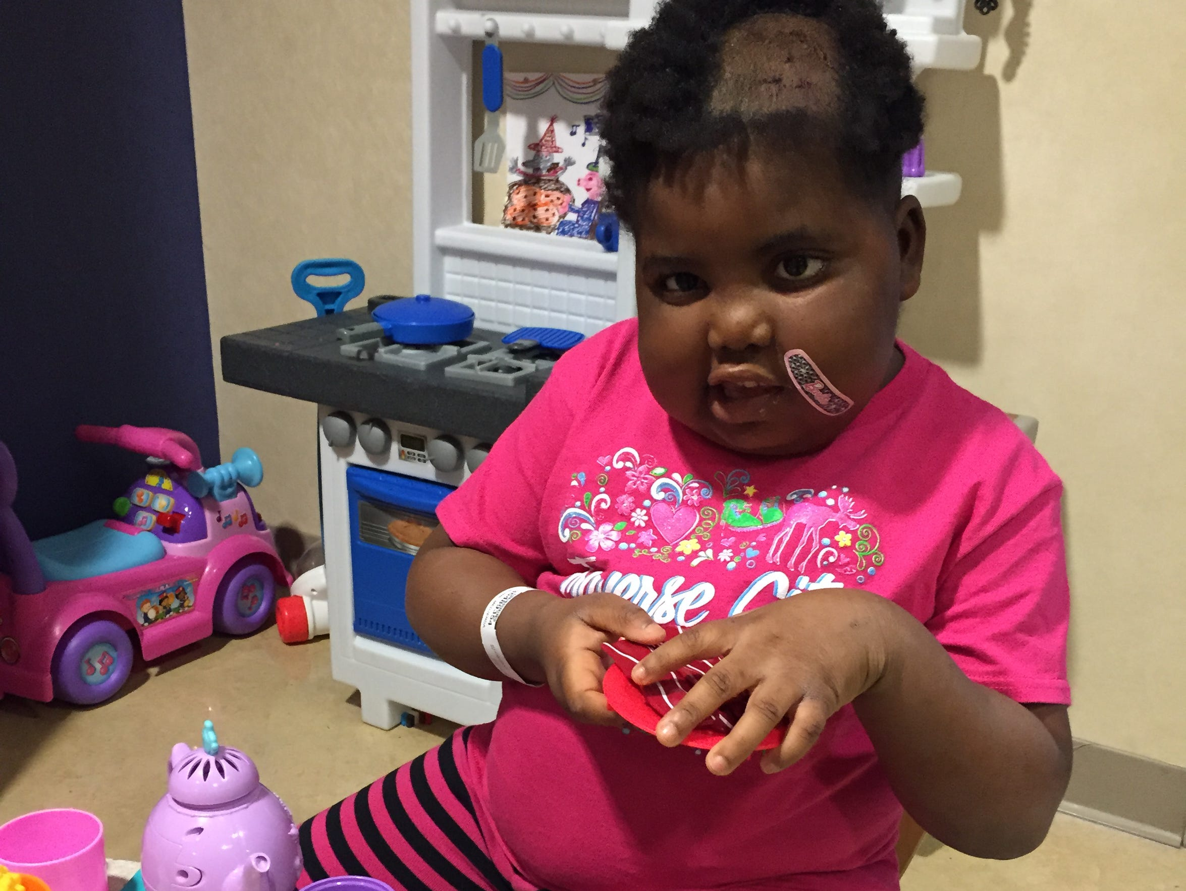 Chika plays after an experimental procedure at Sloan