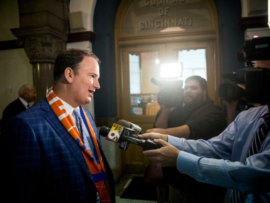 FC Cincinnati general manager Jeff Berding answers