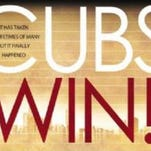 Purchase commemorative Chicago Cubs championship poster
