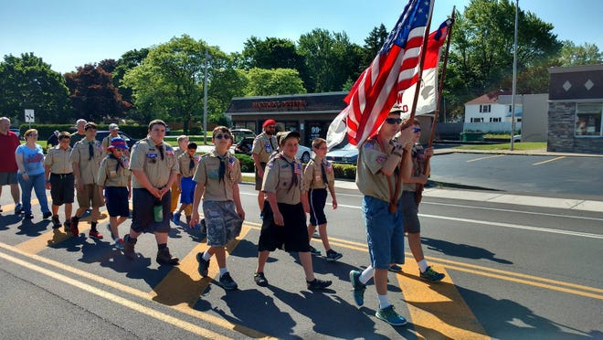 Boy Scout Troops 110 and 108 (A. Schell)