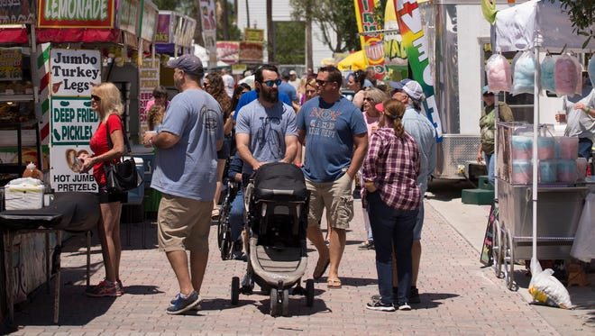 The South Florida Wingfest at Tradition Square is noon to 9 p.m. Saturday at Tradition Square in Port St. Lucie.