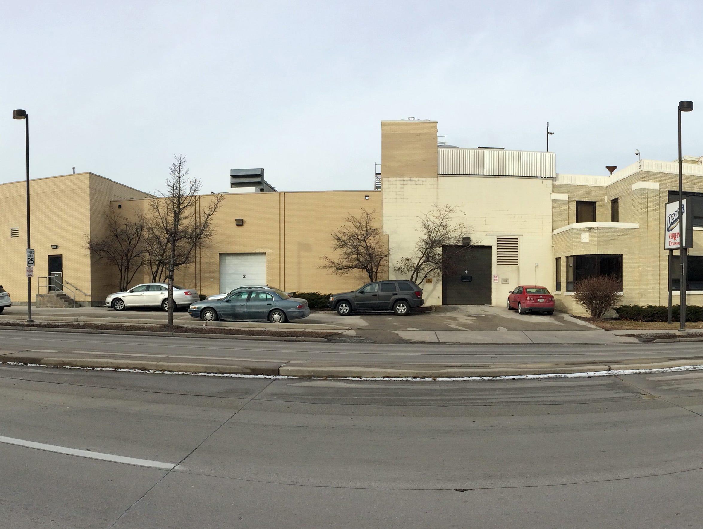 The Verifine Dairy Fluid Milk plant at 1606 Erie Ave.