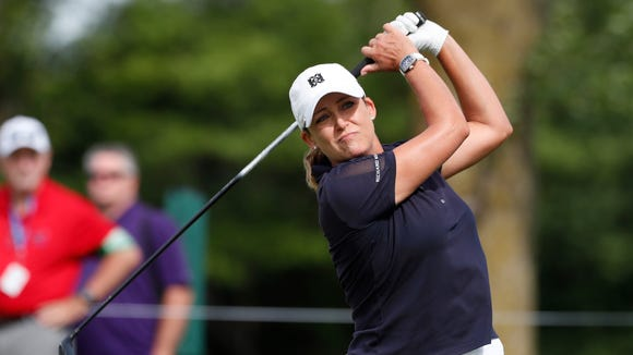 Cristie Kerr, a member at Trump National Golf Club in Bedminster, will be going for her second U.S. Open championship this week.