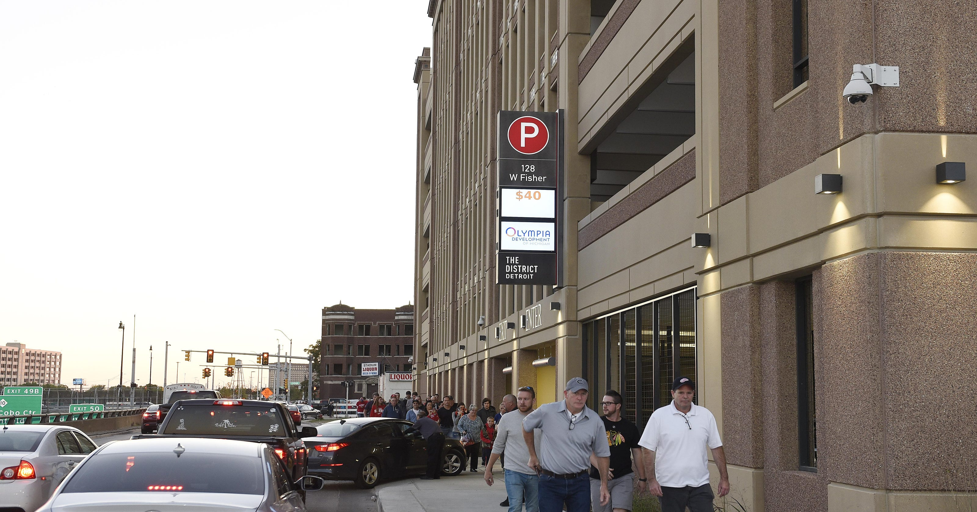 Where to park at Little Caesars Arena