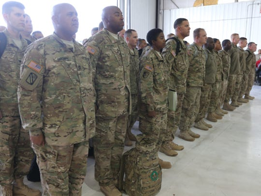 Smyrna-based Tennessee Army National Guard 1176th Transportation
