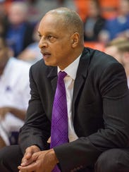 TCU Horned Frogs head coach Trent Johnson.