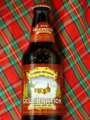 """Sierra Nevada's Celebration Ale is one of Will Cleveland's favorite holiday beers. The India pale ale is """"a hoppy, festive ale"""" with pine and citrus flavor."""