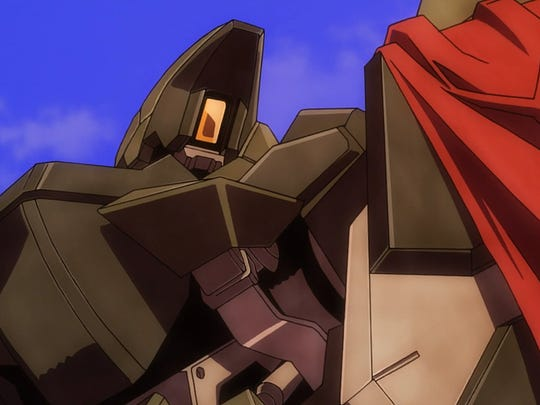 Guess who literally just brought a big, red flag to a mobile suit duel?